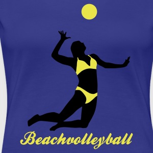 beachvolleyball_woman_c_2c Tee shirts - T-shirt Premium Femme