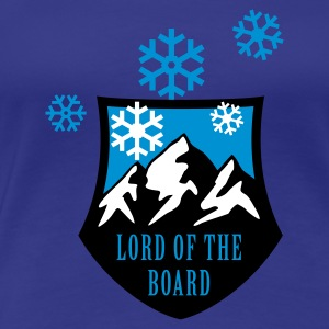 Türkis lord_of_the_board_c_3c T-Shirts - Frauen Premium T-Shirt