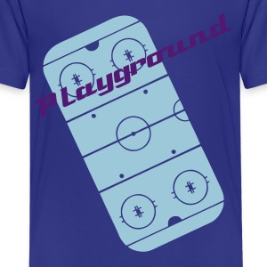 Türkis hockey_field_2 Kinder T-Shirts - Teenager Premium T-Shirt