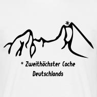 Motiv ~ Geocaching Basisshirt mit dem zweithöchsten Cache Deutschlands auf dem Watzmann