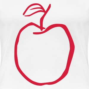 red appel - Women's Premium T-Shirt