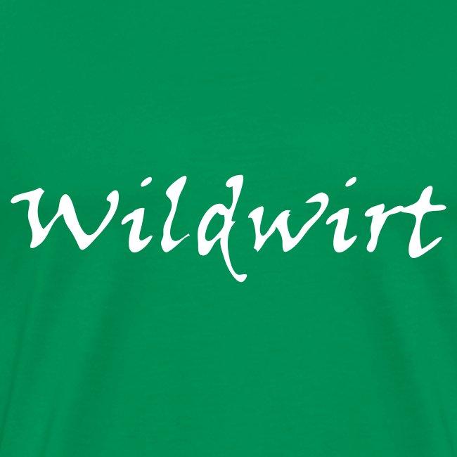"""Jaegershirt.de """"Wildwirt - der das Wild bewirtschaftet"""""""