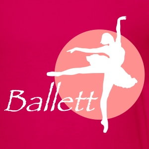 Pink ballett_b_2c Kinder T-Shirts - Teenager Premium T-Shirt