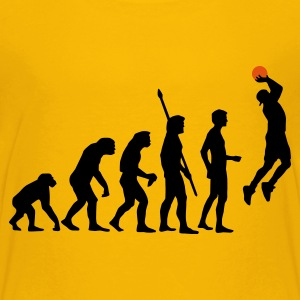 evolution_basketball_b_2c Shirts - Teenage Premium T-Shirt