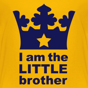 Gelb I'm the Little Brother Kinder T-Shirts - Teenager Premium T-Shirt