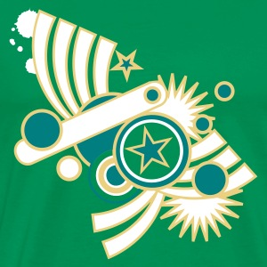 Bottlegreen stardust Men's T-Shirts - Men's Premium T-Shirt