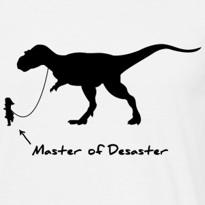 Master of desaster - Männer T-Shirt