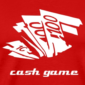 Cash Game Poker - T-shirt Premium Homme