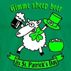 st_patricks_sheep Tee shirts - T-shirt Premium Homme