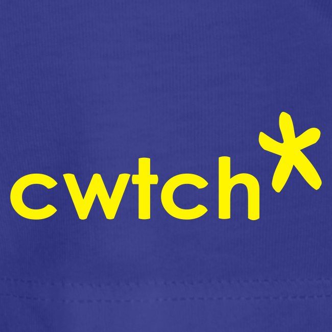 Ladies basic T cwtch daffodil front