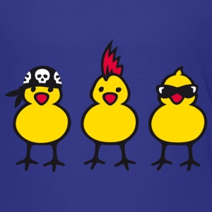 Three Chicks T-shirts - Premium-T-shirt tonåring