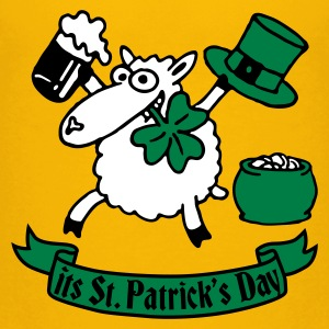 st_patricks_sheep_b Shirts - Teenage Premium T-Shirt