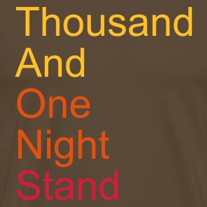 thousand and one night stand 3colors T-Shirts - Mannen Premium T-shirt