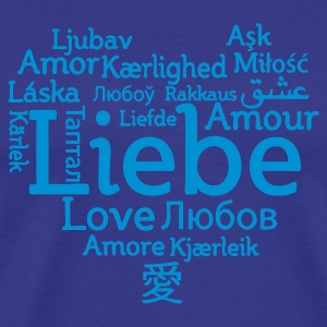 Sky Love international T-Shirts - Männer Premium T-Shirt