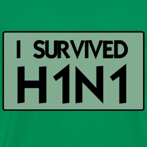 I Survived H1N1 - T-shirt Premium Homme