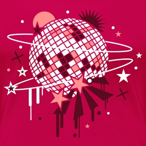 Rose disco_ball T-shirts - T-shirt Premium Femme