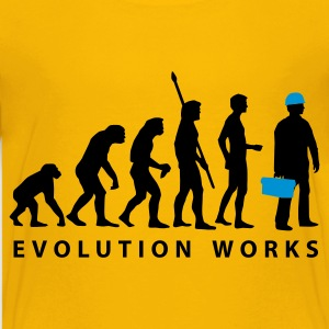 evolution_klempner_b_2c Shirts - Teenage Premium T-Shirt