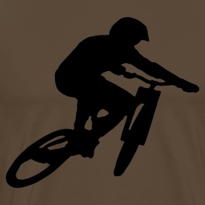 Mountainbike Shirt - Mannen Premium T-shirt