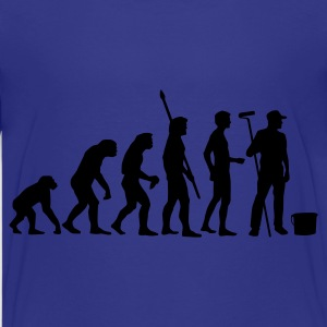 Türkis evolution_maler_b Kinder T-Shirts - Teenager Premium T-Shirt