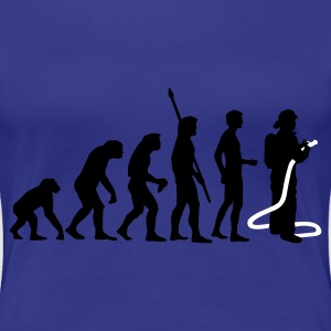 evolution firefighter Camisetas - Camiseta premium mujer