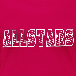 Cheerleadershirt Allstars - Frauen Premium T-Shirt