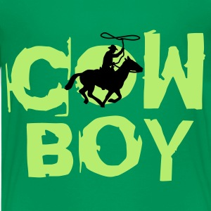 cowboy_b_2c Shirts - Teenage Premium T-Shirt