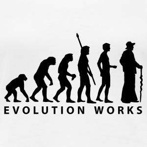 evolution_zimmermann_b T-shirts - Premium-T-shirt dam