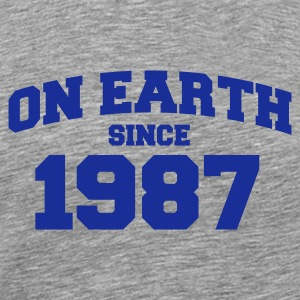 Cendre onearth1987 T-shirts - T-shirt Premium Homme
