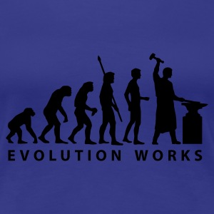 Divablau evolution_schmied T-Shirts - Frauen Premium T-Shirt