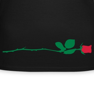Chocolate Rote Rose T-Shirts - Frauen T-Shirt