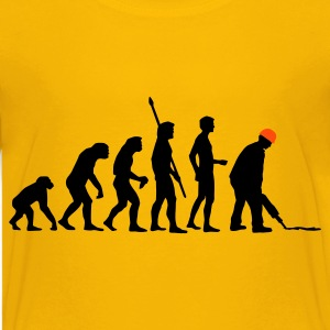 evolution_bauarbeiter_2c Shirts - Teenager Premium T-shirt