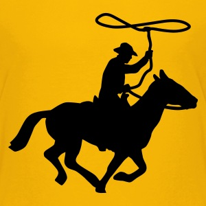 cowboy_a_1c T-shirts - Teenager premium T-shirt