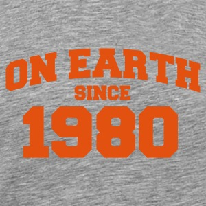 Cendre onearth1980 T-shirts - T-shirt Premium Homme