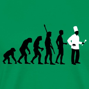 evolution_koch_2c T-shirts - Mannen Premium T-shirt