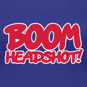 Divablau BOOM headshot 2c AT T-Shirts - Frauen Premium T-Shirt
