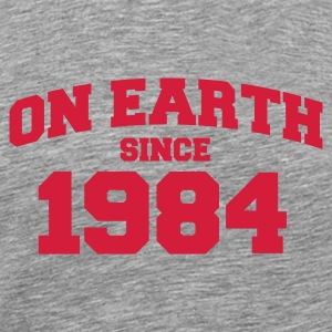 Cendre onearth1984 T-shirts - T-shirt Premium Homme