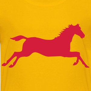 pferd, einhorn, tier - Teenager Premium T-Shirt