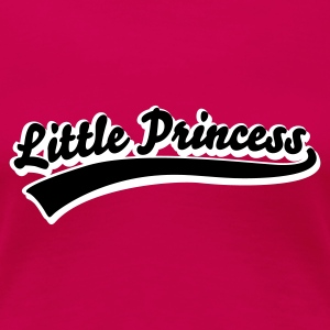 Pink little princess T-Shirts - Frauen Premium T-Shirt