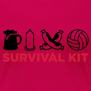 Light pink Survival Kit (2c, NEU) Women's T-Shirts - Women's Premium T-Shirt