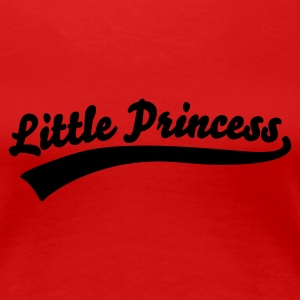 Rot little princess T-Shirts - Frauen Premium T-Shirt