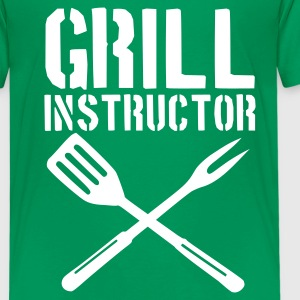 Kelly green Grill Kinder T-Shirts - Teenager Premium T-Shirt