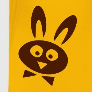 Yellow easter rabbit Kids' Shirts - Teenage Premium T-Shirt