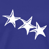 Motiv ~ Shirt Sterne Weiß BOY
