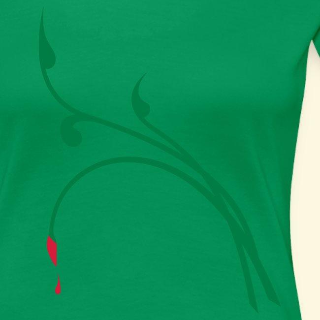 """Shirt für Jägerinnen """"Blattschuss-Tribal im Frühtau"""" *NEU*"""