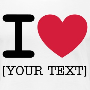 I *heart*  - Women's Premium T-Shirt