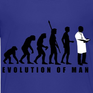 Türkis evolution_arzt_2c Kinder T-Shirts - Teenager Premium T-Shirt