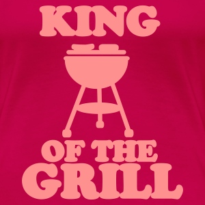 Rose king of the grill T-shirts - T-shirt Premium Femme