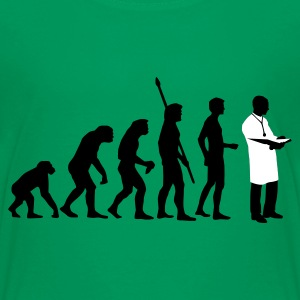 Kelly green evolution_arzt_b_2c Kinder T-Shirts - Teenager Premium T-Shirt