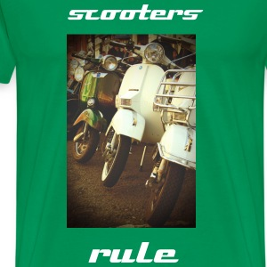 scooters rule! - Men's Premium T-Shirt