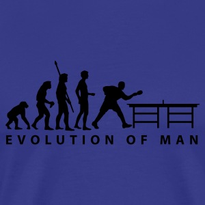 Divablau evolution_table_tennis_b T-Shirts - Männer Premium T-Shirt